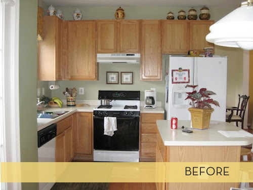 Makeover: First Class Kitchen Upgrade » Curbly   DIY ...