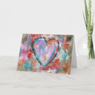 Reckless Heart Original Painting Cards