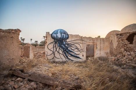 roa sea creature art