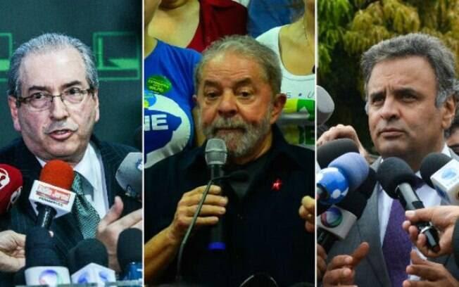 Cunha, Lula e Aécio foram citados na delação feita pelo senador Delcídio do Amaral (ex-PT-MS)