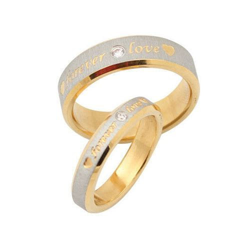 Personalized name ring engagement ring titanium promise