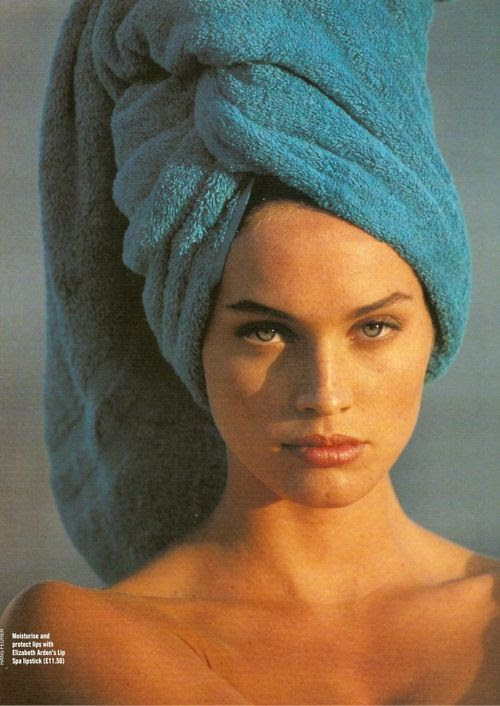 """""""Miss Miami"""", Elle France, May 1992Photographer: Hans FeurerModel: Beri Smither"""