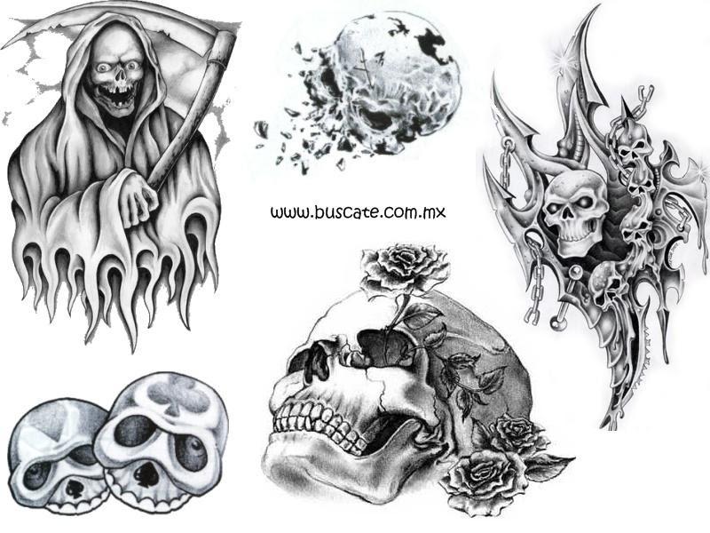 Tatuajes Calaveras Muerte