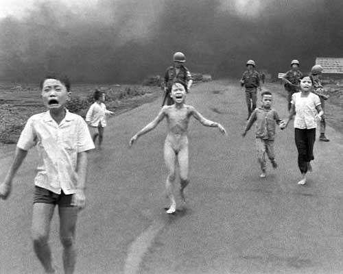 Napalm in Vietnam