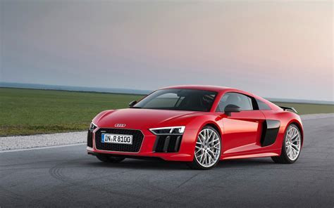 2016 Audi R8   Red Static   4 2560x1600   Wallpaper
