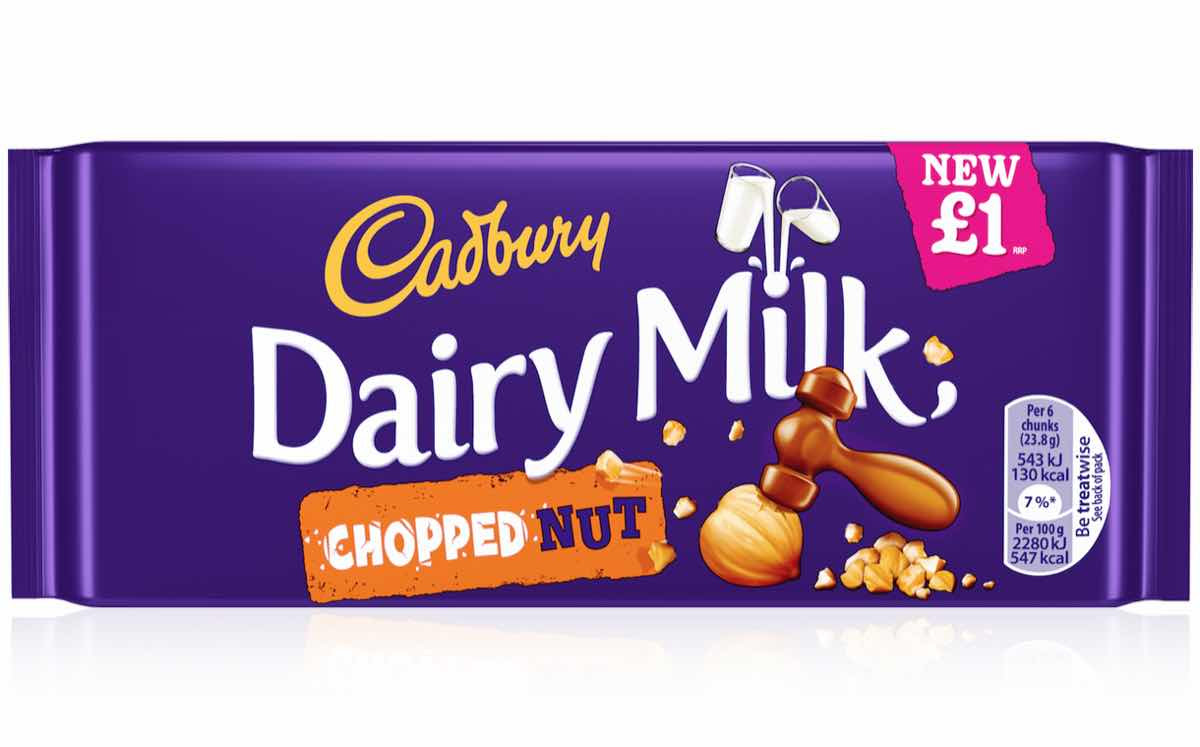 Cadbury Dairy Milk to launch new chopped nut tablet