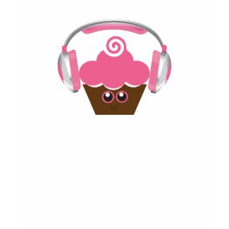 Cupcakes and Music shirt