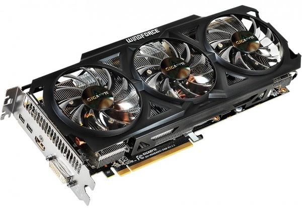 Gigabyte Radeon R9 280X OC Rev 2.0 (GV-R928XOC-3GD REV2 (2)