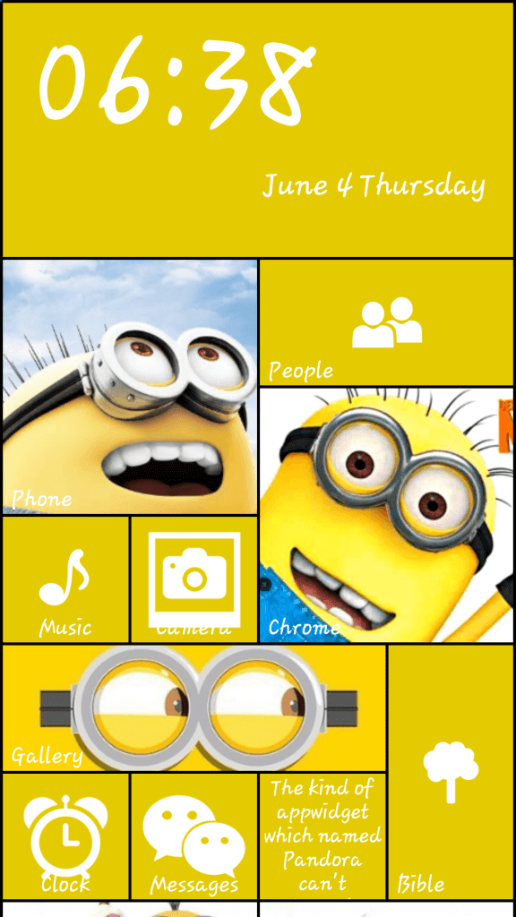 Windows 8 interface on Android - WP8 Launcher (5)