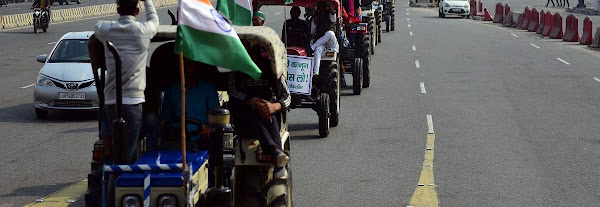 Samyukt Kisan Morcha calls off tractor parade, appeals participants to return to protest sites