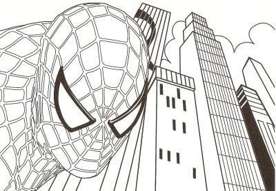 Dibujo De Spiderman Dibujo Para Colorear De Spiderman Dibujos