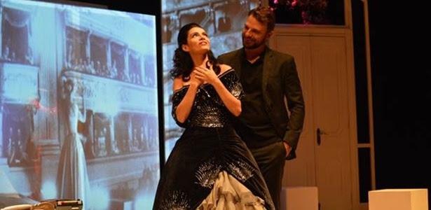 """Claudia Ohana e Cássio Reis estão em """"Callas"""", com direção Marília Pêra e texto de Fernando Duarte"""