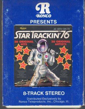 Star Trackin' 76 - 20 Original Hits 20 Original Artists Ronco 8-track tape