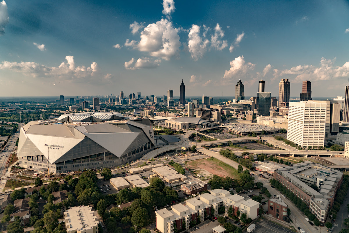American Cathedral: The story behind Mercedes-Benz Stadium ...