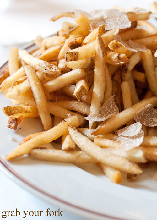 truffle fries at bouchon bistro beverly hills la los angeles