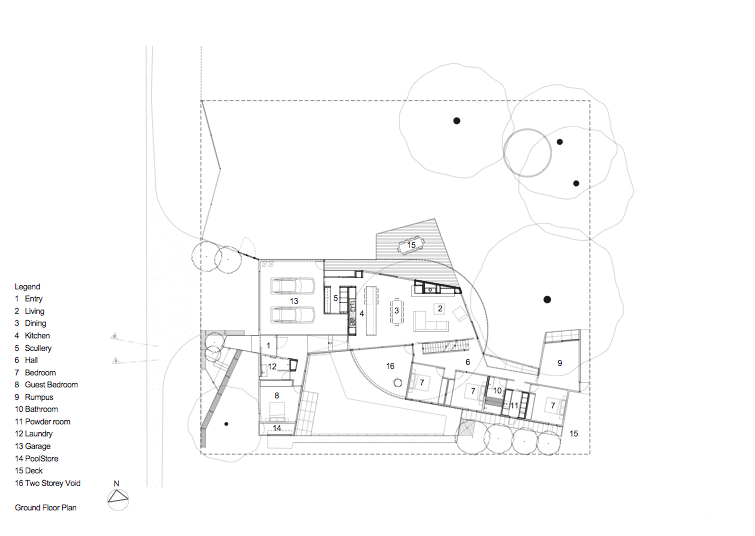 planos, Henley Street House - Jackson Burrows Clements Architects