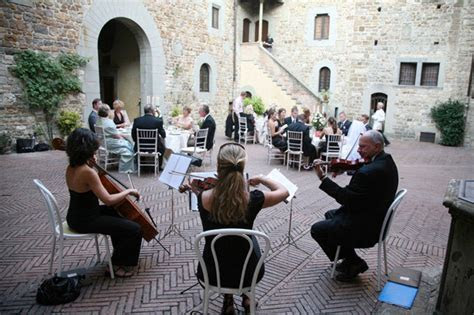 Music for reception in Italy