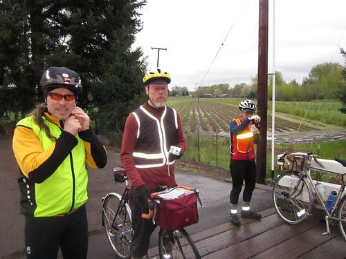 Michal, David, and Lesli, Gallon House Bridge