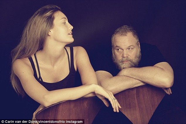 Old enough to be her dad - literally: The Australian actress' father Law And Order: Criminal Intent star Vincent D'Onofrio