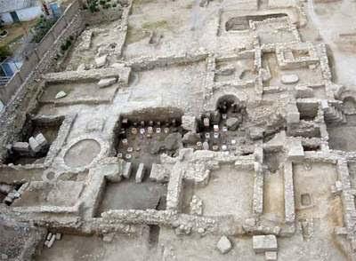 Restos de la ciudad romana de Allon