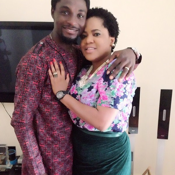 Image result for images of toyin aimakhu and adeniyi johnson