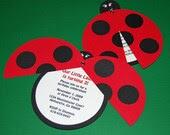Sweet Ladybug Collection - Invtations - Custom Birthday Party Invites