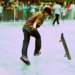 Skateboarding 15688: Spin