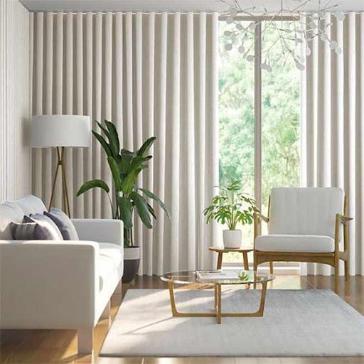 Rèm chống sáng cho phòng khách hiện đại