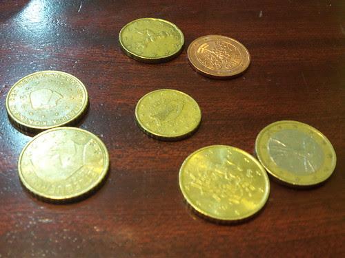 Macro monetine di Euro by Ylbert Durishti