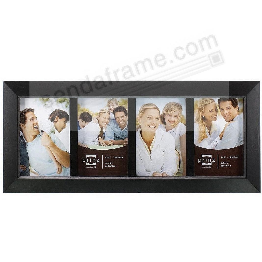 Dakota Black Collage For 4 4x6 Prints Frame From Prinz Picture