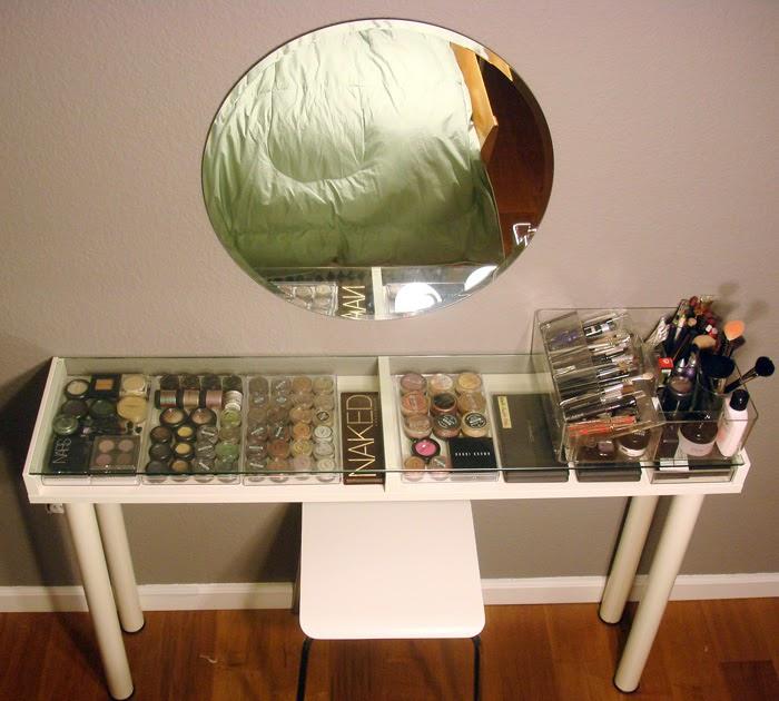 Makeup Vanity Woodworking Plans File