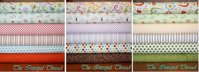 Fabric Giveaway! The Good Life Fat Quarter Bundle with The Intrepid Thread!!