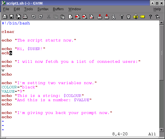 Script Tattoo Writing. Code styles script found