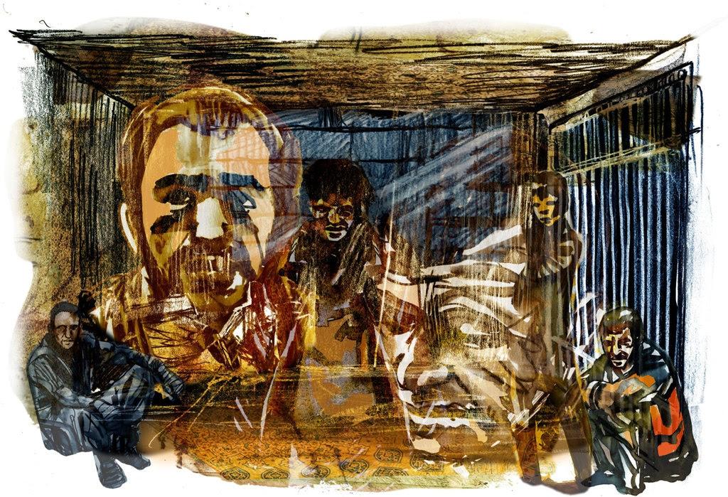 Prigione di Saydnaya, Siria. - Damien Roudeau