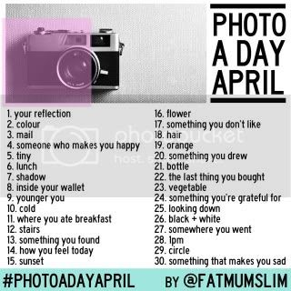Photo a day in April!