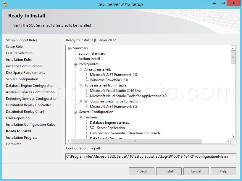 How to install SQL Server 2012 on Windows Server 2012 R2