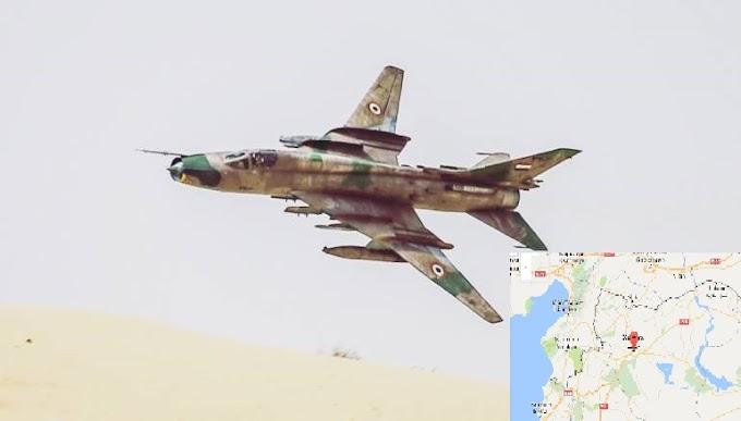 ΠΟΛΕΜΟΣ! Συριακό Αεροσκάφος σκότωσε 3 τούρκους ανατολικά του Χαλεπίου #Aleppo