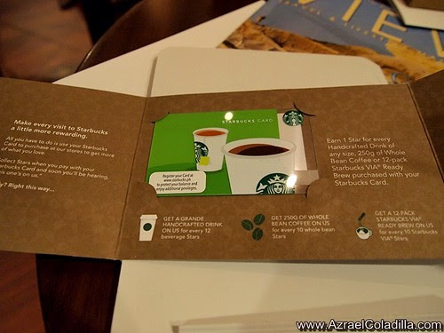 Starbucks Rewards Card launched in the Philippines
