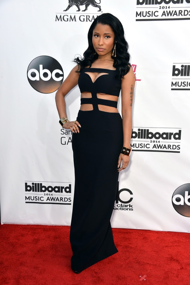 nicki minaj mcqueen billboard 2014 Billboard Music Awards Red Carpet Style