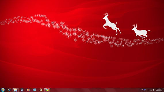 free download christmas wallpaper for windows 7