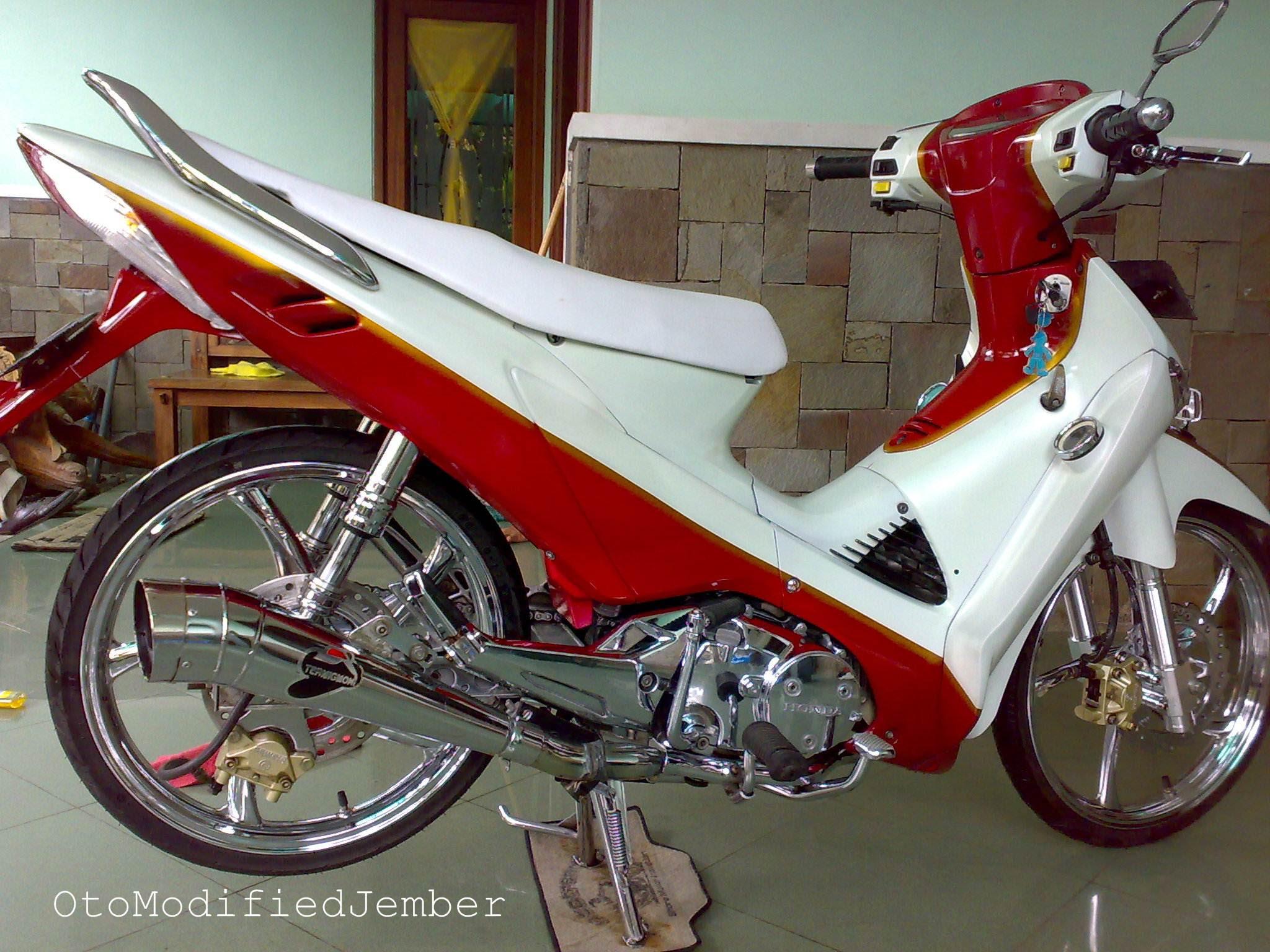 100 Gambar Motor Honda Wave 100 Terlengkap Gubuk Modifikasi