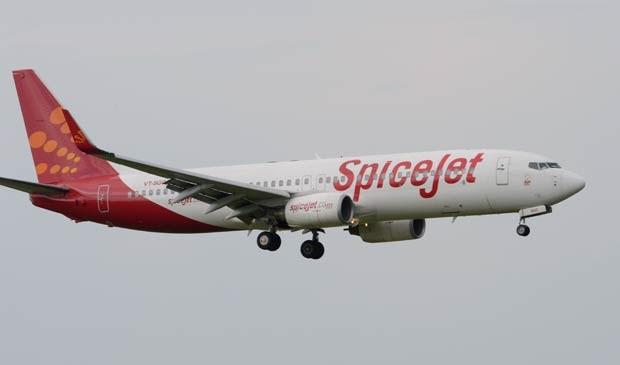 Avião da companhia aérea indiana SpiceJet. (Foto: Arquivo / AFP Photo)
