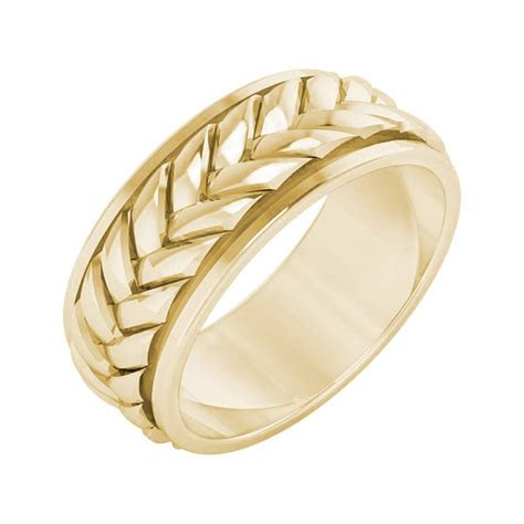 photo  mens braided wedding bands