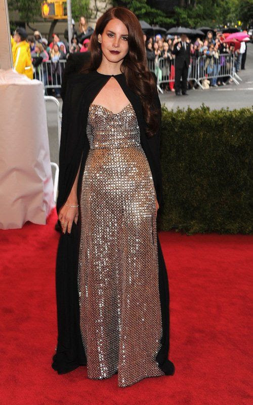 Costume Institute Gala Met Ball - May 7, 2012, Lana Del Rey