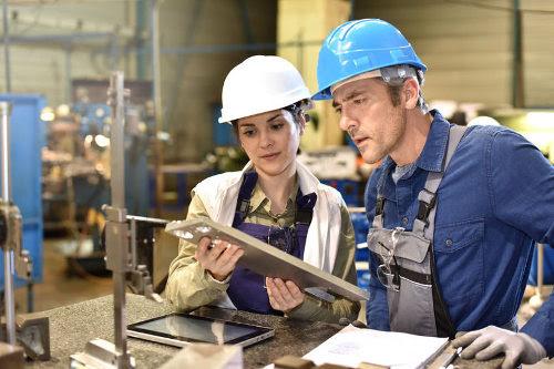Manufacturing management team