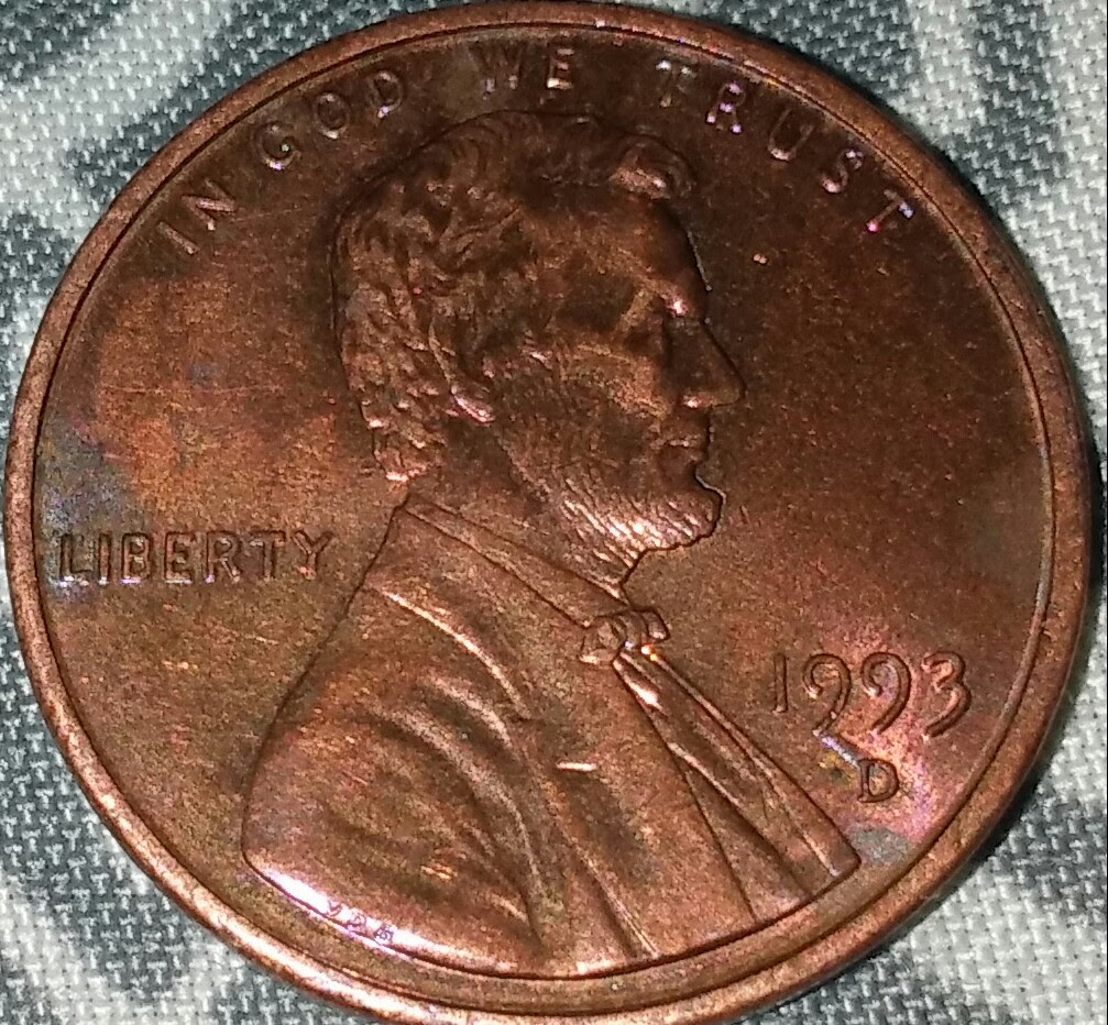 1993 pennie what kind of error? is it an error? - Coin ...