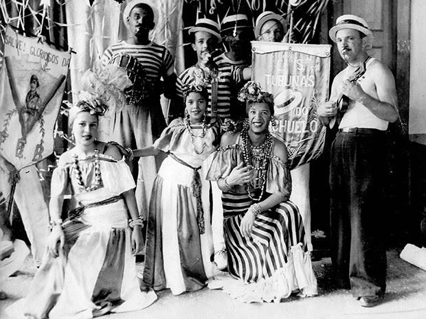 Ministrinho Carnaval 1946 JF (Foto: Cezira Toschi/ Arquivo Pessoal)