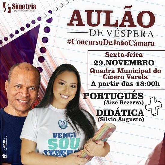 Aize Bezerra realizará Aulão de Véspera para o Concurso