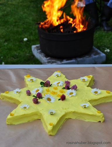 Our Summer Solstice Cake