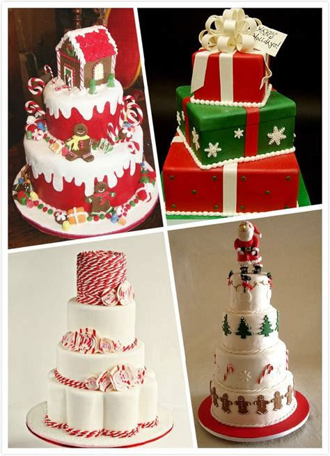 Christmas Wedding Theme     wedding cake can be truly